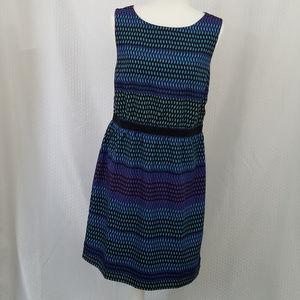Loft Sleeveless Midi Dress